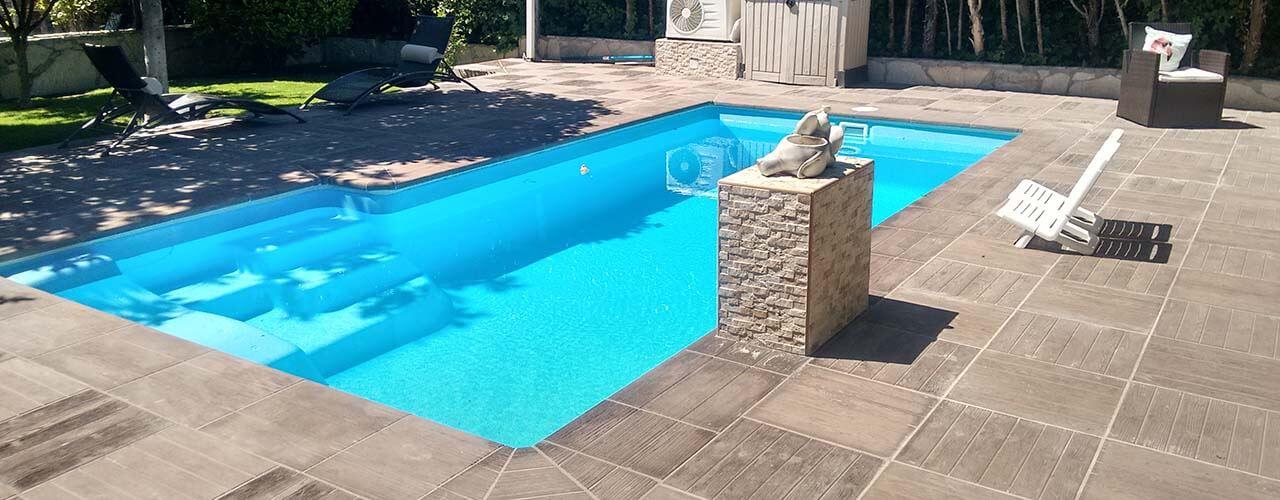 Precio de piscina de obra cheap piscinas de obra latest diseo y construccin with madrid precios - Precio de piscinas de obra ...