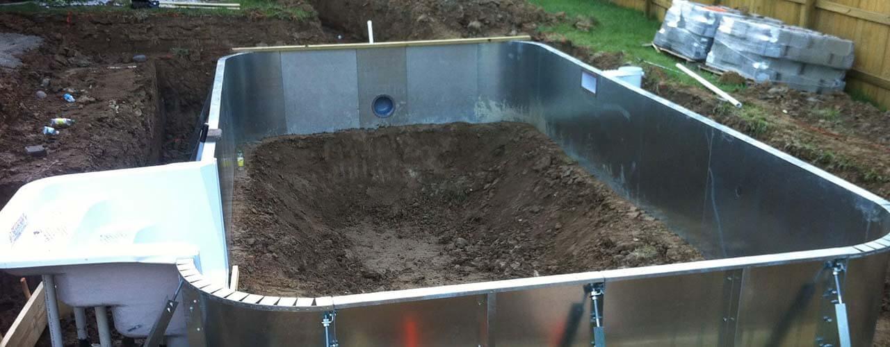 10 ventajas de las piscinas de acero for Construccion de albercas economicas