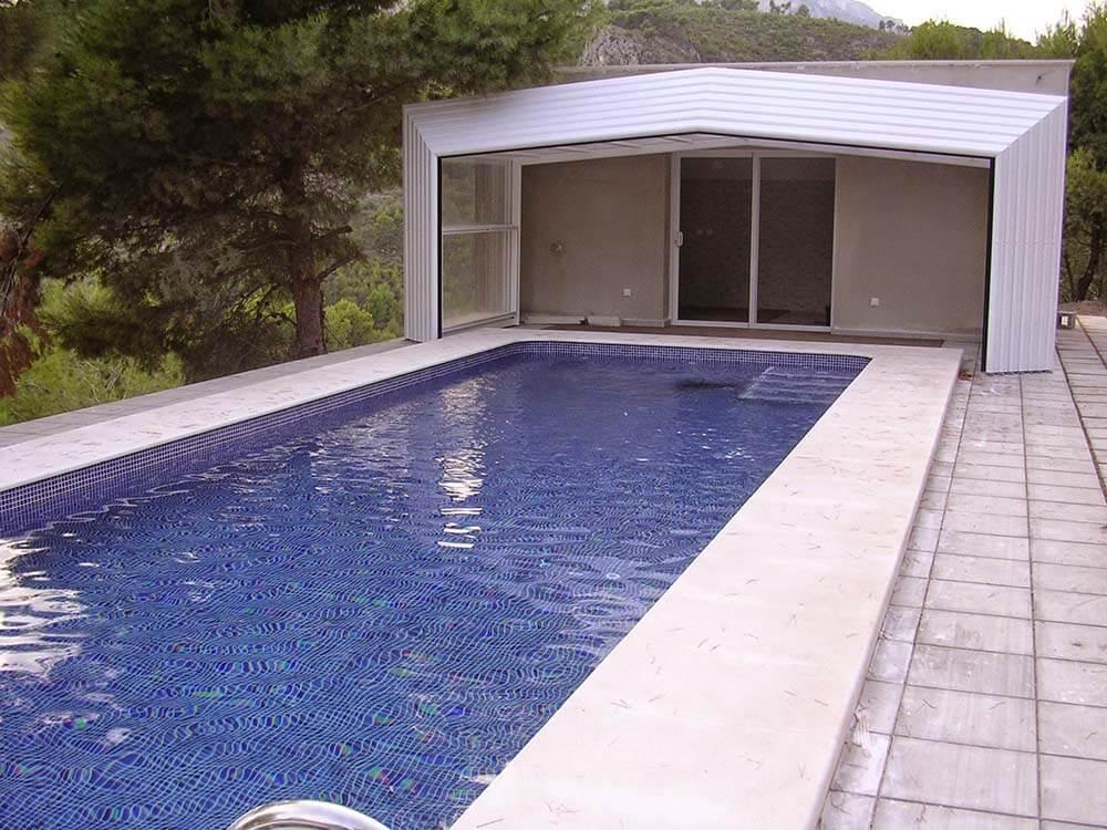 Cubiertas altas para piscina presupuestos online for Piscinas desmontables altas