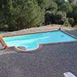 Piscina autoinstalable bloques
