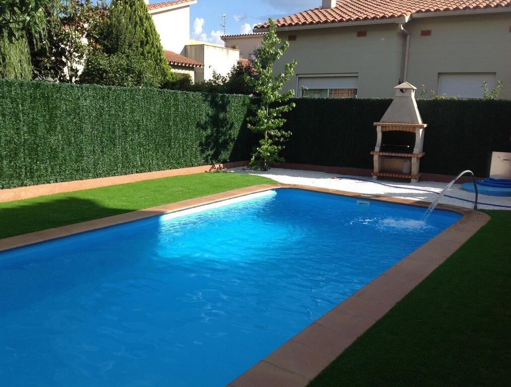 Precios de piscinas de poliester elegant gndola with for Piscinas de poliester precios